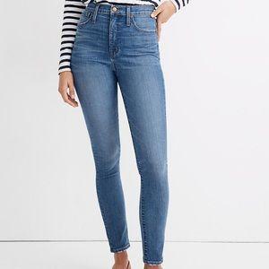 """NWT Madewell 11"""" High Rise Skinny Jeans Maricopa"""